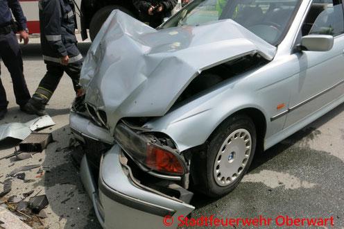 Feuerwehr, Blaulicht, Hochzeit, Verkehrsunfall, Oberwart