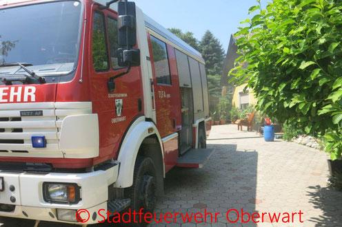 Feuerwehr, Blaulicht, Stadtfeuerwehr Oberwart, Besuch, Volksschule