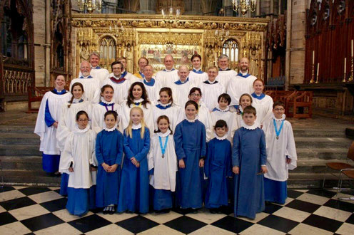 The Choir at Wesminster Abbey, July 2016
