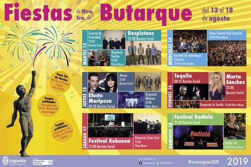 Fiestas en Leganés Fiestas de Butarque