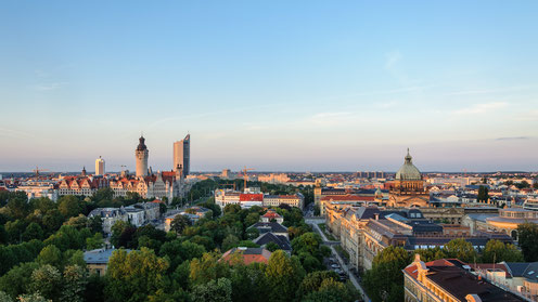 Leipzig, Germany, DMC Germany, Skyline