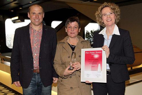 von links: Thomas Schneider, Astrid Schulz, Dr. Andrea Schmidt