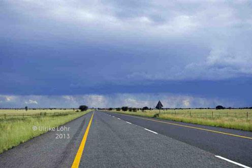 auf der Straße nach Kimberley, Provinz Nordkap