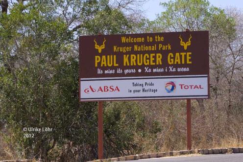 am Paul Kruger Gate