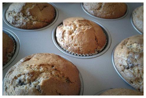 Peanutbutter-Schokoladen-Muffins