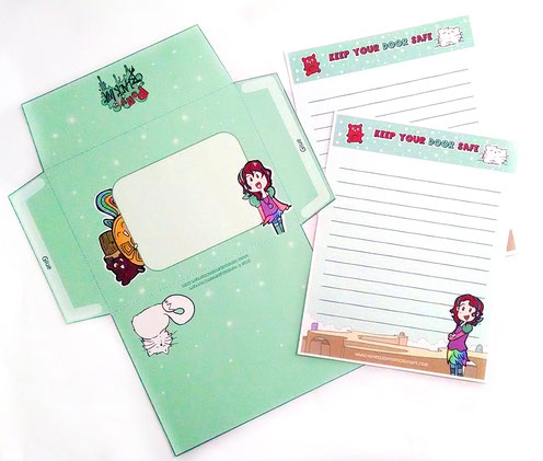 #stationary, stationary, free printable, print envelope, free, polly and the black ink free, polly and the black ink torrent, polly and the black ink books, polly and the black ink graphic novel, vanessa bettencourt art