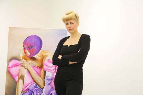 Charlie Stein, Künstlerin, Berlin, SMAC Galerie, kunstStory