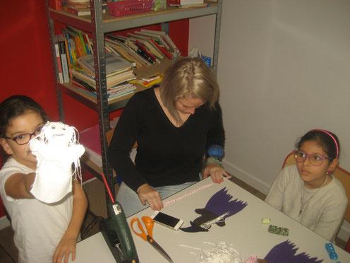 marionnette, atelier, halloween, feutrine, couture, enfants