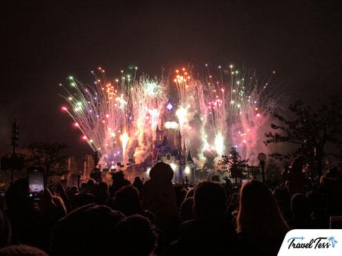 Disney Illumations show Disneyland Parijs