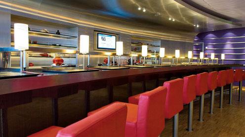 AIDAdiva Sushi Bar