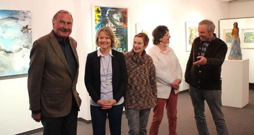 Künstler in Murnau, Peter Hirt, Regina Wuschek, Tanja Schönberg, Ludmilla Stepanek, Ernst Franz