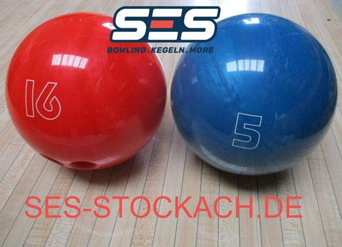 Bowling Ball House verschiedene Gewichte/Sizes gebohrt/drilled