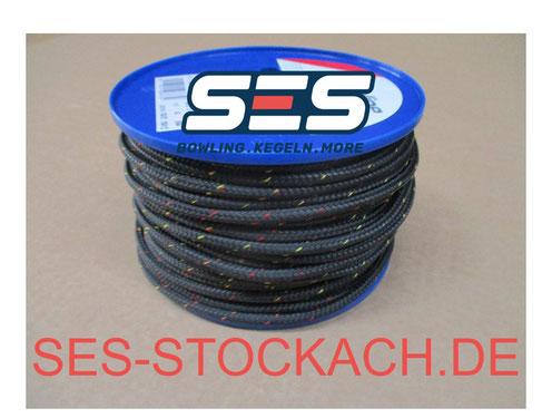 75-110013-000 Kegelseil schwarz String black 5,3mm
