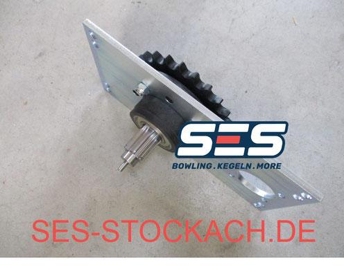 55-020325-009 Antriebssupport komplett Kurvenseite Spellmann Ritzel 14Z