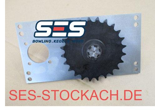 55-020321-009 Antriebssupport Motorseite Pinion gear support