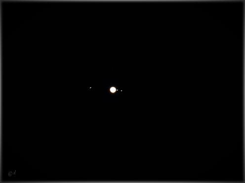 Der Jupiter & seine Monde am 25.06.2021 vom eigenen Grundstück aus fotografiert
