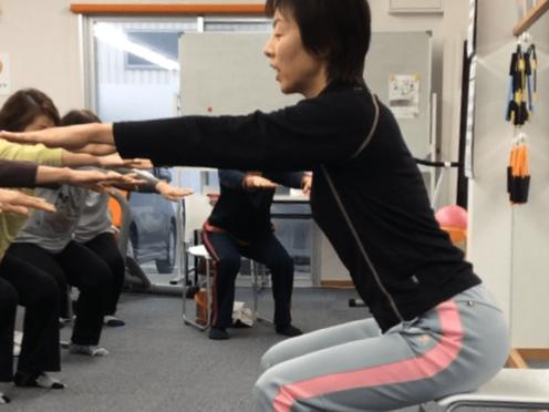【画像】20180726肩こり猫背&ポッコリおなか解消トレーニング@エリアベンチャーズ