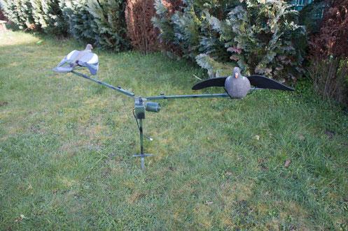 Ausrüstung für die Taubenjagd