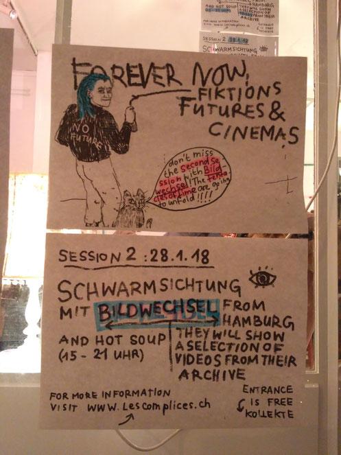 Veranstaltungsreihe Forever Now. Fictions, Futures & Cinemas