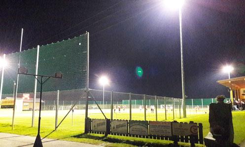 Fußballplatz Mitterling mit neuem Flutlicht (2017)