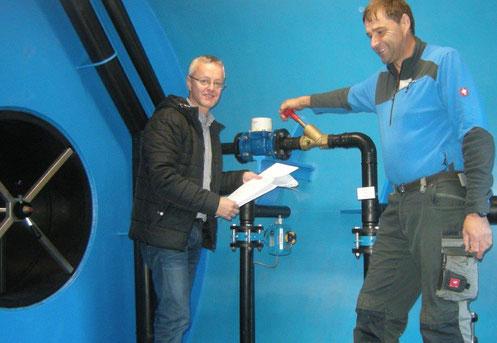 Die Wasserversorgungsanlagen WVA-Rangersdorf und Lainach mit 330 Anschlüssen