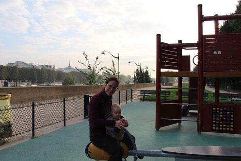 Paris Playground Seine