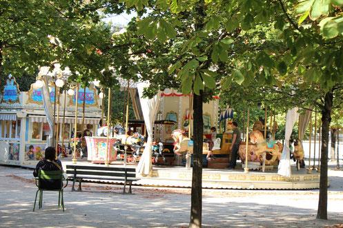 Paris Playground Tuileries Carousel