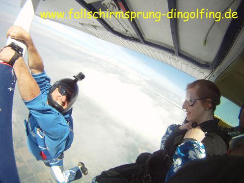 Geschenkgutschein Fallschirmsprung Gutschein Bayern Fallschirmspringen