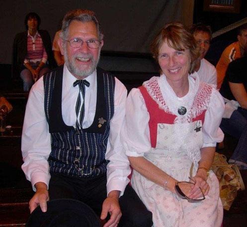 Walter und Arlette Götti, Ehrenmitglieder