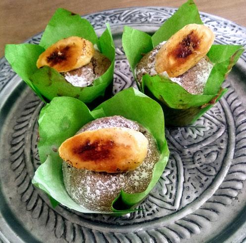 Kaneelmuffins met Banaan