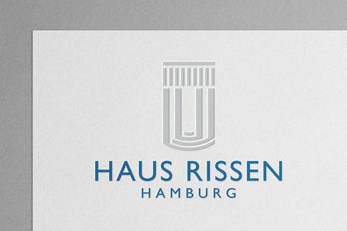 Logo Design: Haus Rissen Hamburg, Institut für internationale Politik und Wirtschaft, von Andreas Ruthemann