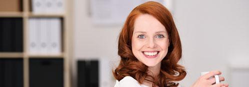 Frau rotes Haar,Selbstbewusstsein siegt,Albicker Coaching, coach-4you