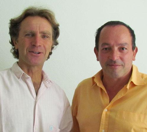 Duo PAPERJAZZ : Bernard BARBERY et Serge TROUBADOUR.