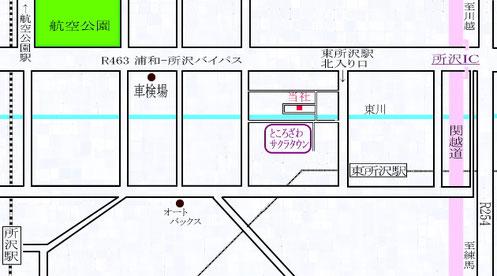 放電加工センター地図
