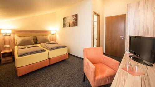 Matratzen Groß Zimmern doppelzimmer hotel an der waldstrasse in groß zimmern