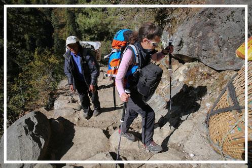 LEKI | Manuela Sedlmayr | Aufstieg | NEPAL