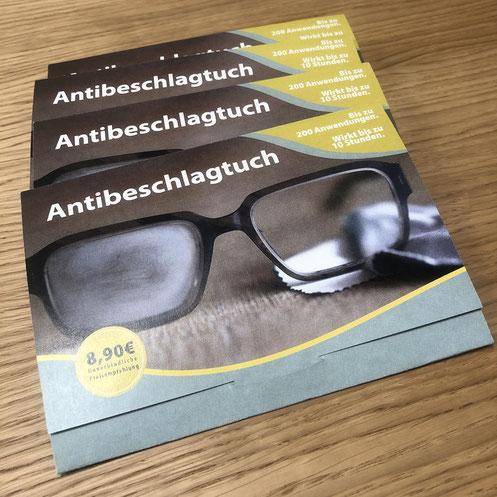 Antibeschlagtuch für Brillen