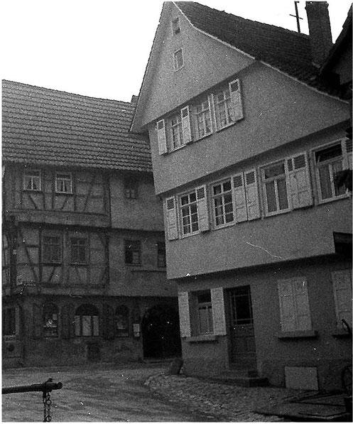 Ecke Aiperturm/Kirchstraße um 1935 Foto: Ivo Lavetti