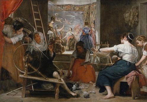 Пряхи (Миф об Арахне) - самые известные картины Веласкеса