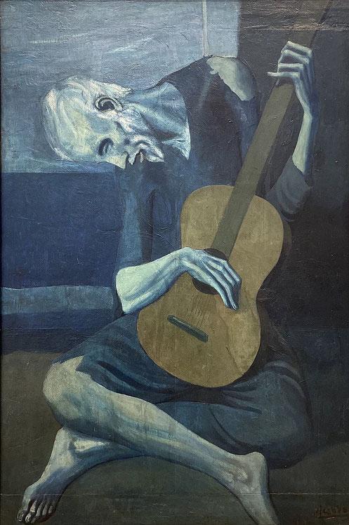 Старый гитарист - Пабло Пикассо