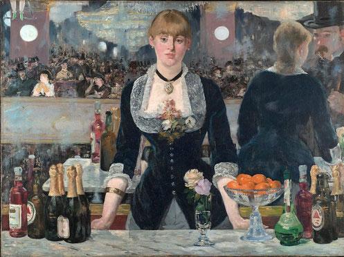 """Бар в """"Фоли-Бержер"""" - самые известные картины Эдуарда Мане"""