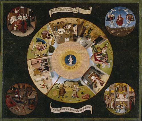 Семь смертных грехов - самые известные картины Иеронима Босха