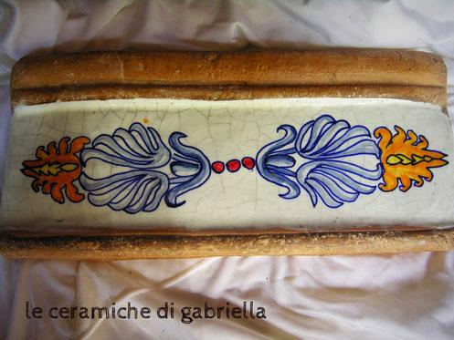 listelli maiolica per casali antichi cucine in muratura