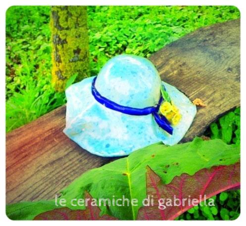 cappello di ceramica da giardino