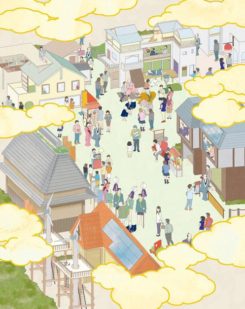 江戸イラストマップ