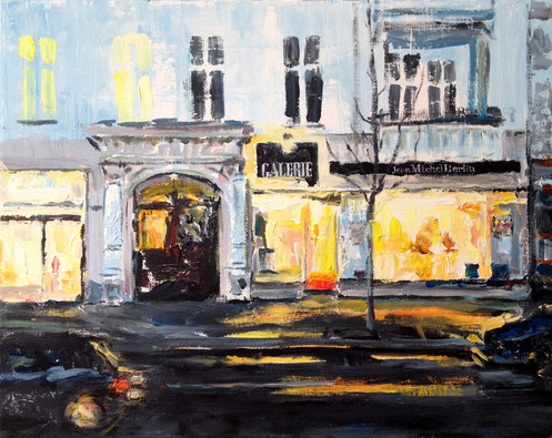 Galerie Jean Michel Kantstr 28 . 50 x 40 cm Acryl auf Leinwand . AUFTRAGSARBEIT