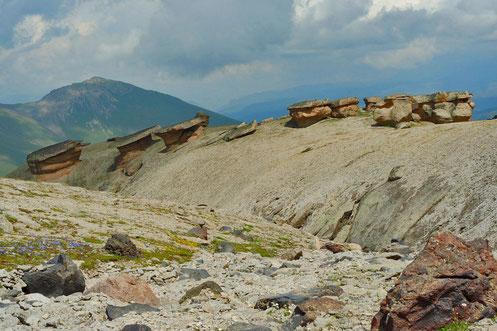 Mushroom Rocks Elbrus