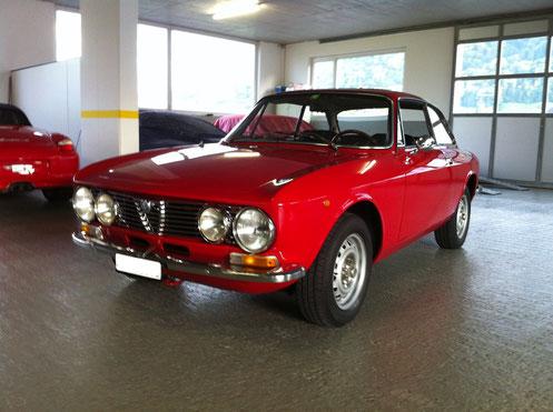 Alfa Romeo 1300 GT Junior 1976 mit Veteranenstatus (Schweizer Auslieferung)