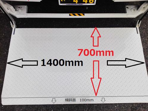 昇降可能な重量は機器単体で300Kgとなります