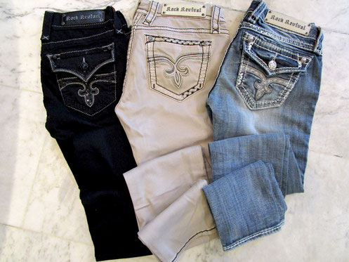 "Jeans"" Rock Revival """